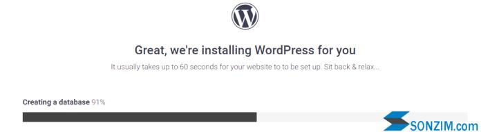 Lập website WordPress với hosting miễn phí 000webhost -Bước 3.2