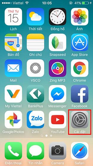 Cách tạo cử chỉ mới trên iPhone - Bước 1