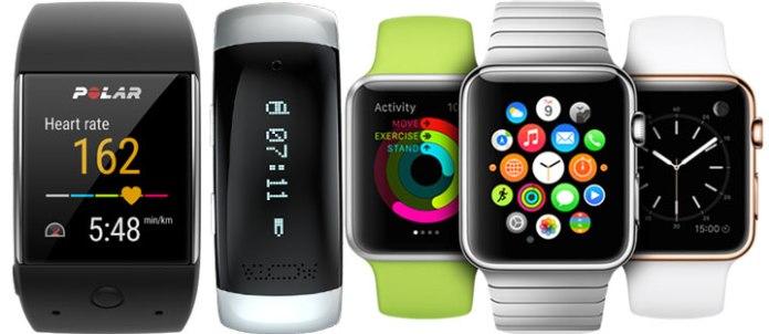 Hiện có rất nhiều loại smartwatch - đồng hồ thông minh