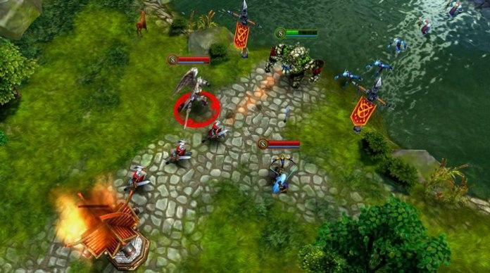TOP 5 game MOBA cho smartphone đáng chơi nhất - Heroes of Order & Chaos