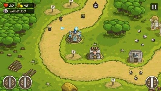 Top 20 game offline hay dành cho Smartphone - Kingdom Rush