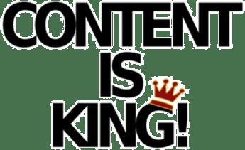 Content is king - Nội dung là vua