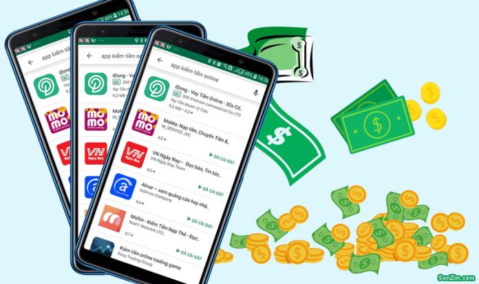 Những app kiếm tiền trên điện thoại