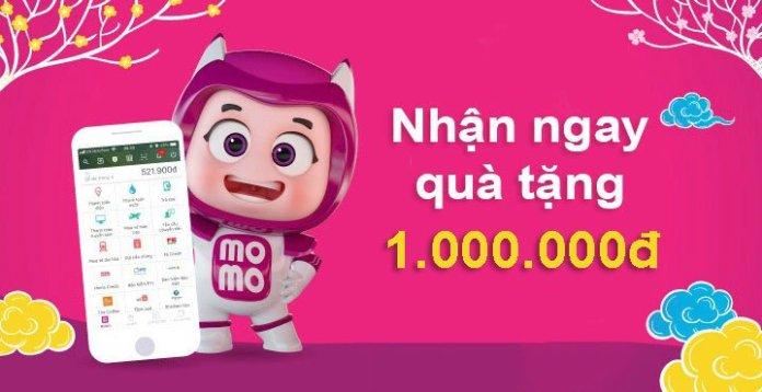 Ưu đãi MoMo tặng 1.000.000đ