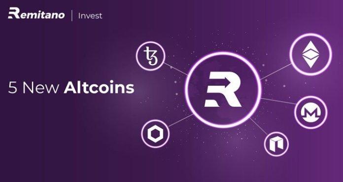Sàn giao dịch Remitano thêm 5 Altcoin tiềm năng trên Invest