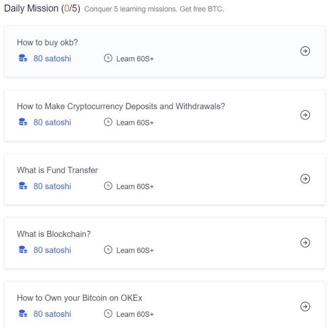 Làm nhiệm vụ xem video hoặc đọc báo để nhận bitcoin miễn phí