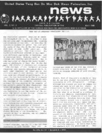 1980 07 Usa Moo Duk Kwan Federation Newsletter