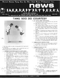 thumbnail of 1985 08 Usa Moo Duk Kwan Federation Newsletter