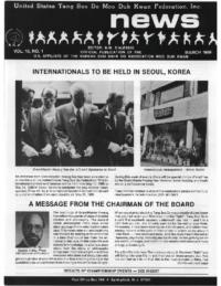 1989 03 Usa Moo Duk Kwan Federation Newsletter