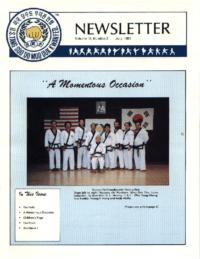 1991 07 Usa Moo Duk Kwan Federation Newsletter