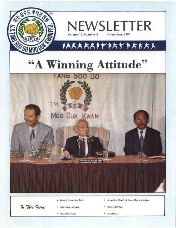 thumbnail of 1991 11 Usa Moo Duk Kwan Federation Newsletter
