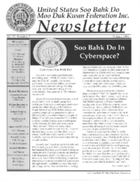 1996 06 Usa Moo Duk Kwan Federation Newsletter