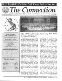 1999 06 Usa Moo Duk Kwan Federation Newsletter