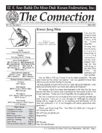 2002 09 Usa Moo Duk Kwan Federation Newsletter