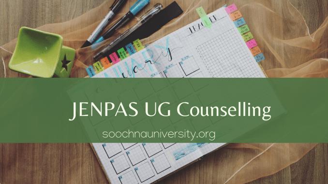 WB JENPAS UG Counselling