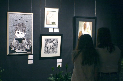 Youth Art Winners Display