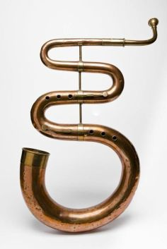 Copper Serpent Instrument
