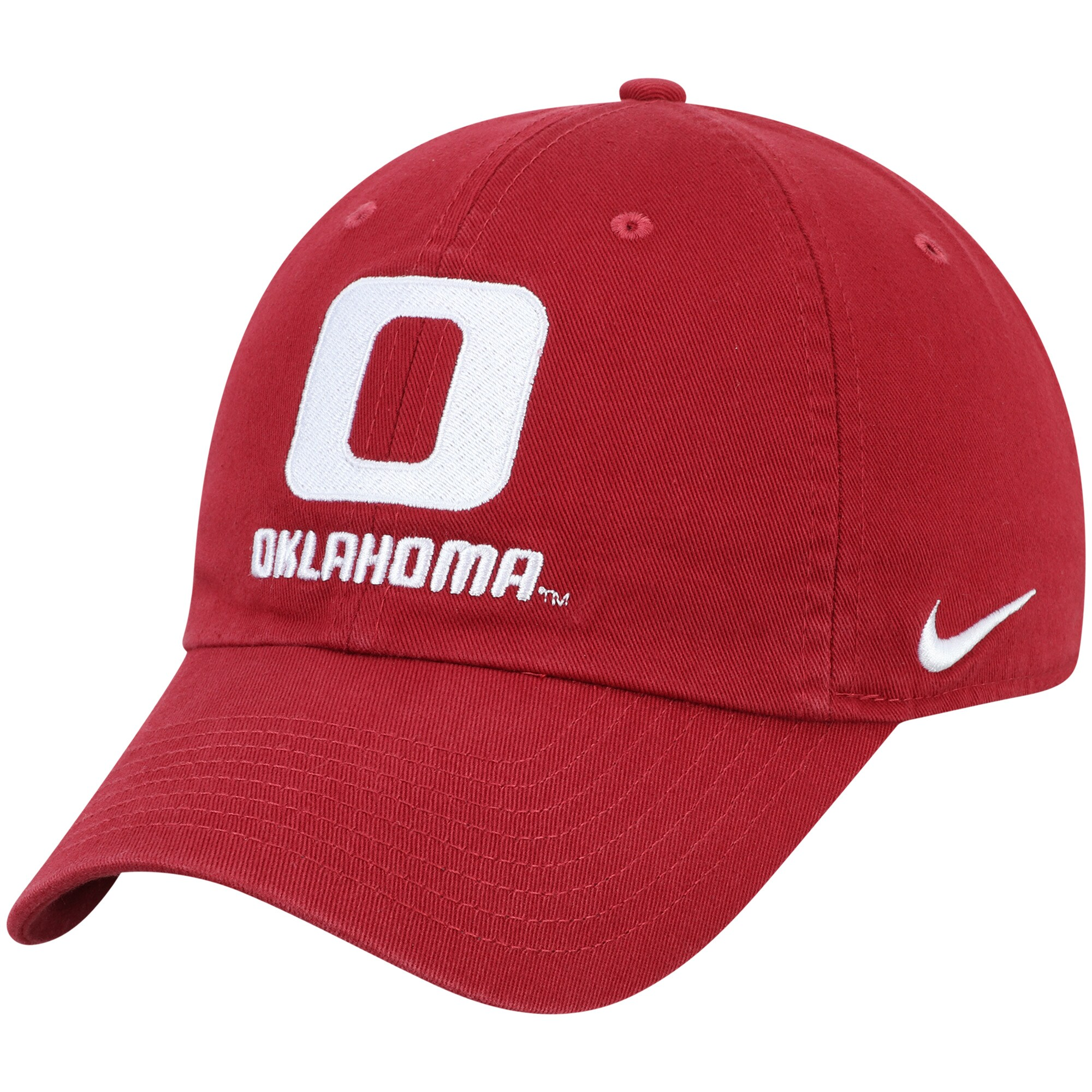 Oklahoma Sooners Nike Heritage 86 Performance Adjustable Hat - Crimson