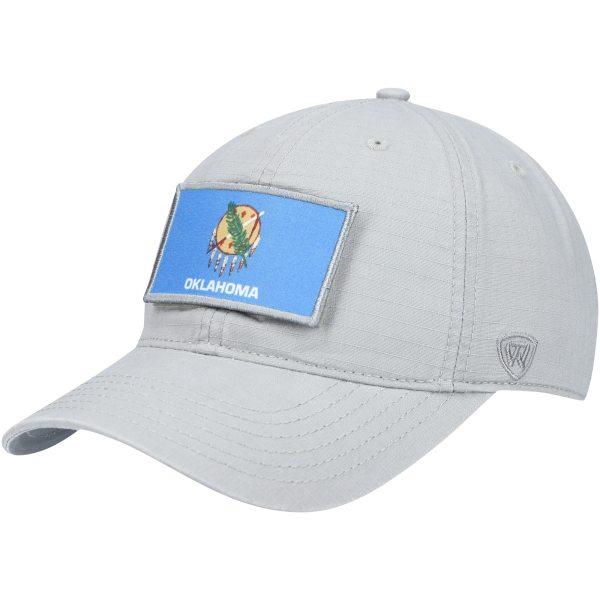Oklahoma Sooners Top of the World Breakaway Adjustable Hat - Gray