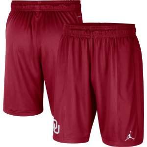 Oklahoma Sooners Jordan Brand Performance Shorts - Crimson