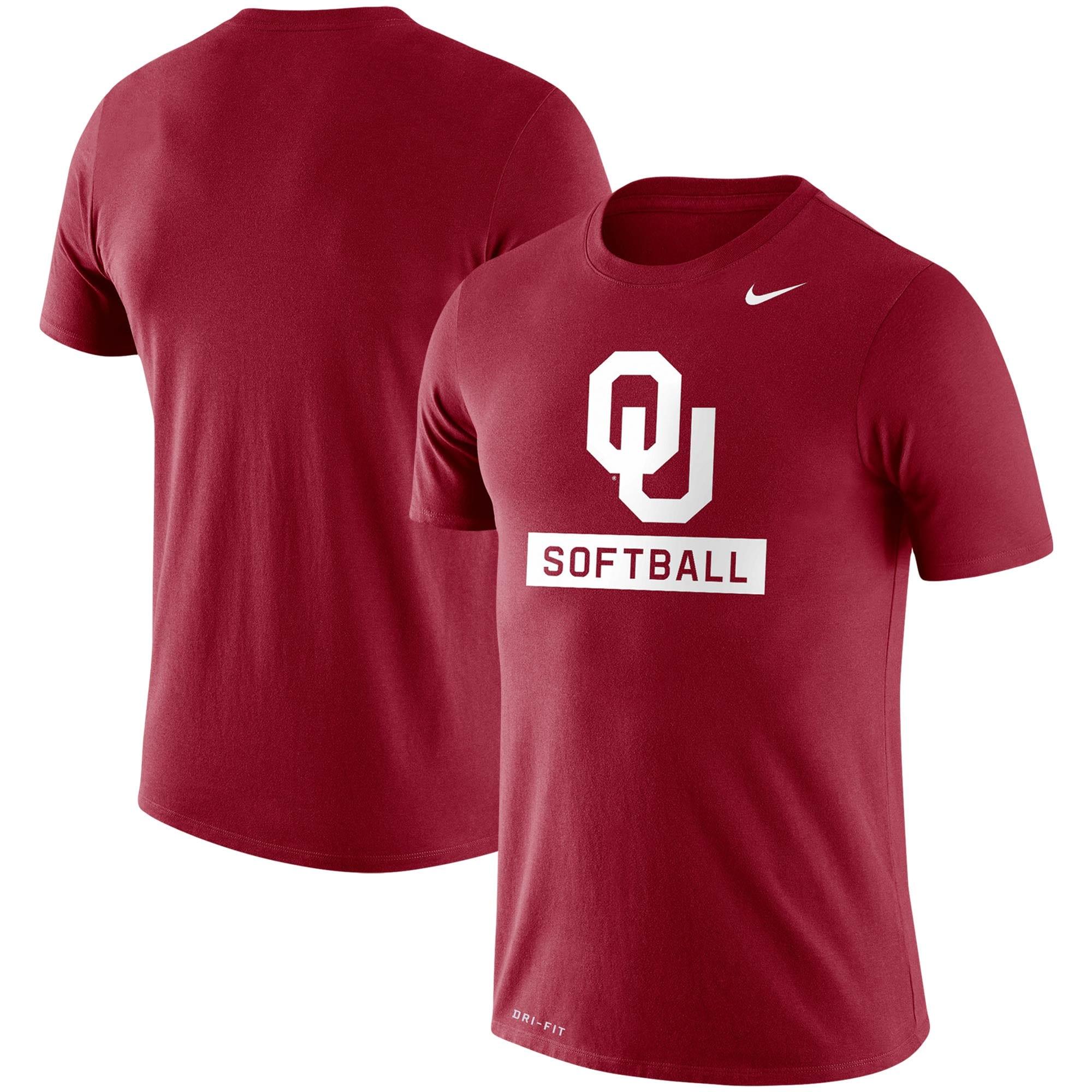 Oklahoma Sooners Nike Softball Drop Legend Performance T-Shirt - Crimson