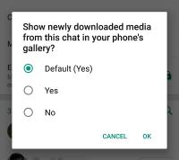 WhatsApp Gallery Update