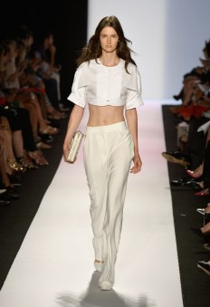 BCBGMAXAZRIA: Photo by Frazer Harrison/Getty Images for Mercedes-Benz