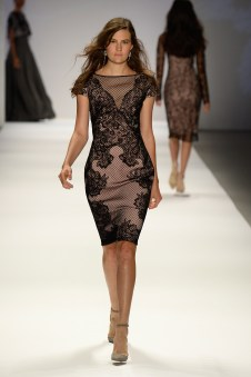 Tadashi Shoji: Photo by Frazer Harrison/Getty Images for Mercedes-Benz
