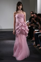 Vera Wang Bridal Fall 2014 // Photo credit: WWD.com