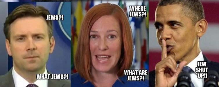 obama psaki earnest-JEWS