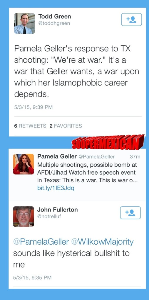 Garland tweets muslims blank big 03