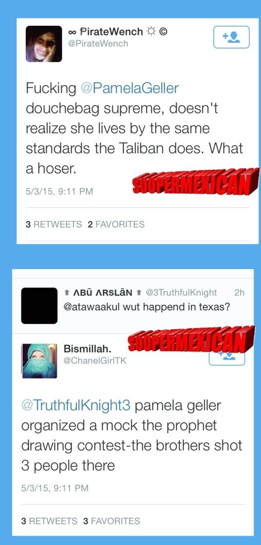 Garland tweets muslims blank big 08