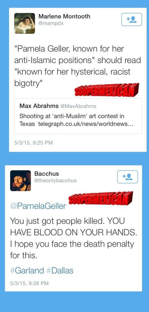 Garland tweets muslims blank big 13