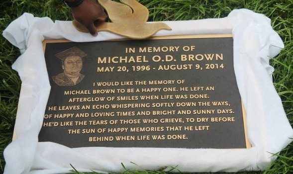 mike brown plaque1