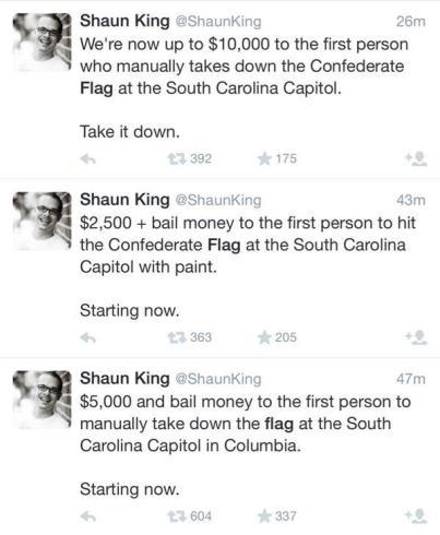 shaun king crimes