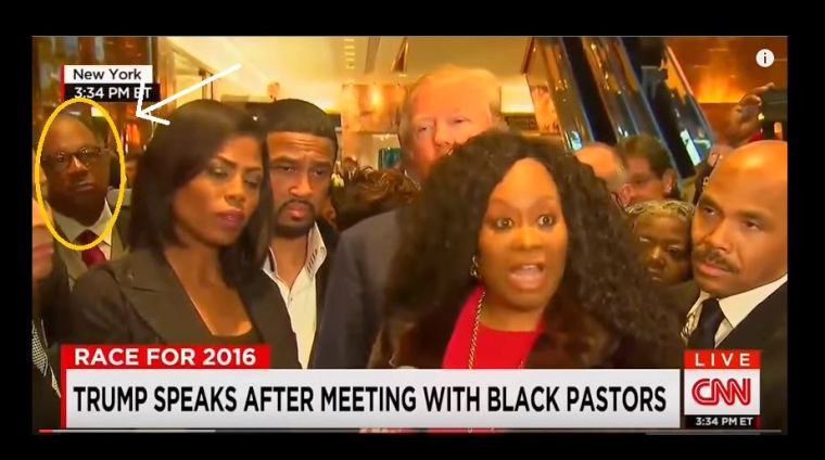 pastor manning with trump