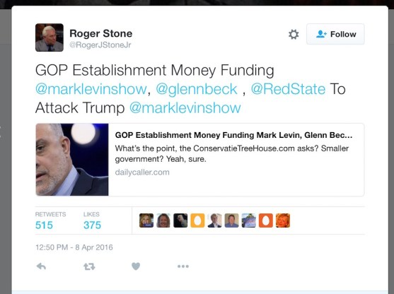 roger stone conspiracy theory