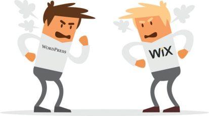 Wix vs WordPress Author Website