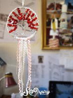 Red coral tree of life, home decor