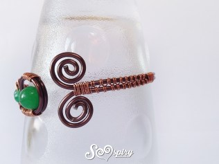 upper arm bracelet, copper bracelet, cuff bracelet4