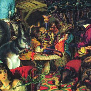 Ilustração do encarte do álbum.
