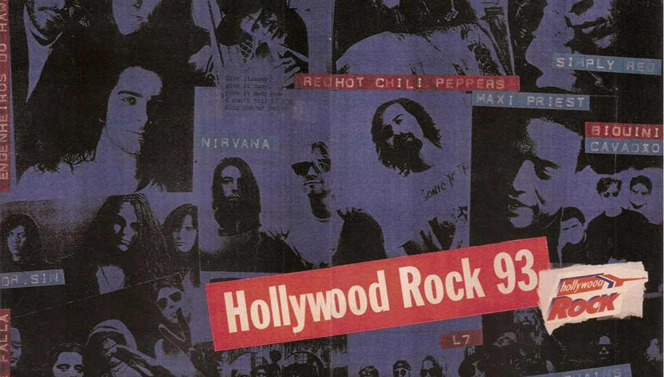Resgatando a memória do Hollywood Rock 1993
