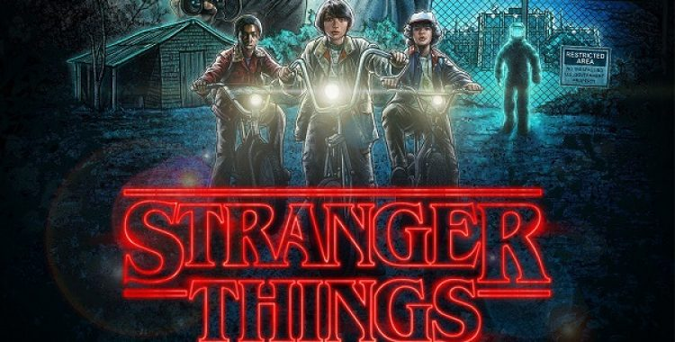 A trilha sonora de Stranger Things