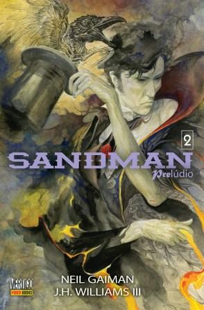 Capa Sandman: Prelúdio Volume 2