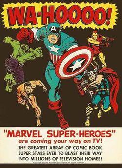 """Marvel Super-Heroes"" Advertisement, 1960s"