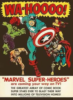 """Marvel Super-Heroes"" Advertisement, 1960s"