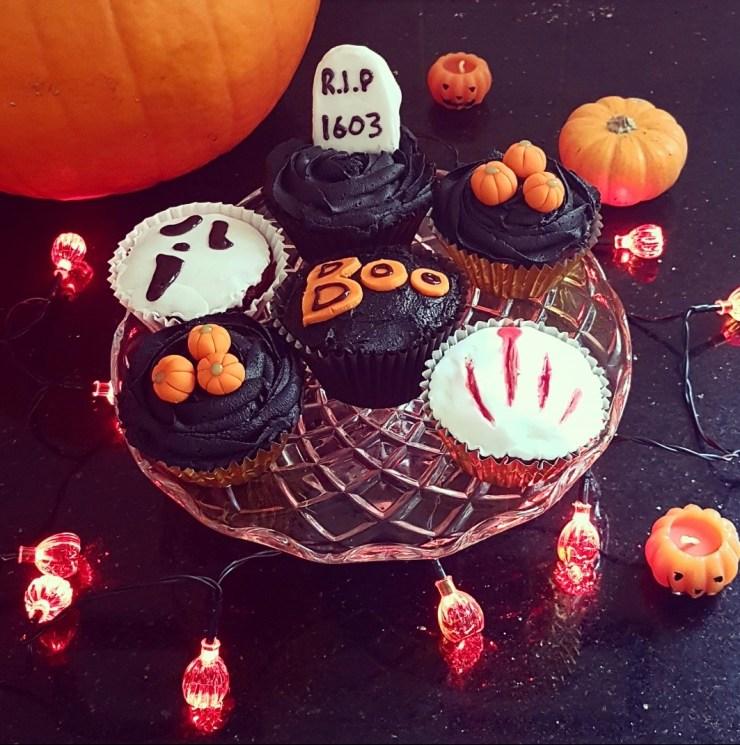 Halloween Cupcakes Baking Boo