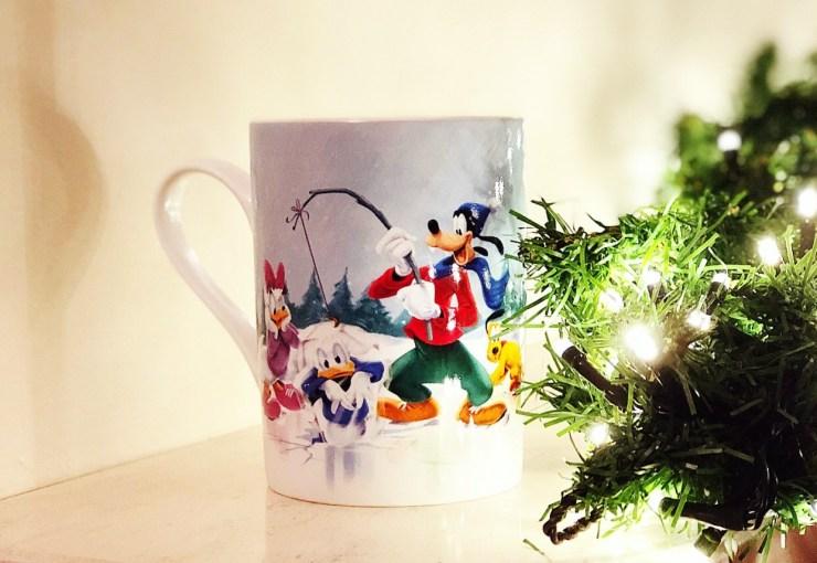 Disney Christmas Mug: Homeware