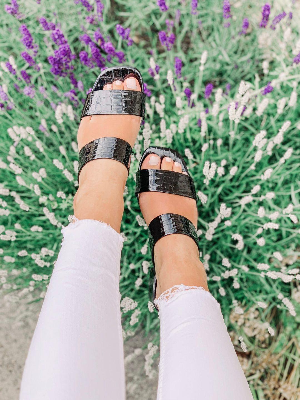 Mini Heel- Black