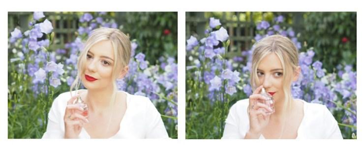 Perfume in flower garden